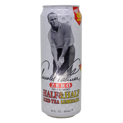 напиток ARIZONA Arnold Palmer Zero tea 680 мл  Ж/Б 1 уп.х 24 шт.