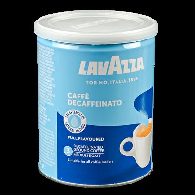 кофе LAVAZZA CAFFE DECAFFEINATO 250 г ж/б молотый 1 уп.х 12 шт.