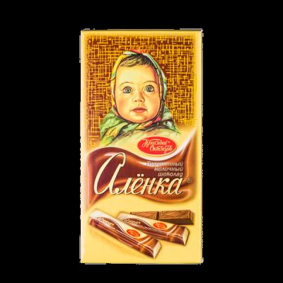 шоколад Аленка Порционный 100 г 1 уп.х 17 шт.