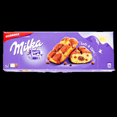печенье Милка Soft & Choc 175 г 1 уп.х 16 шт.