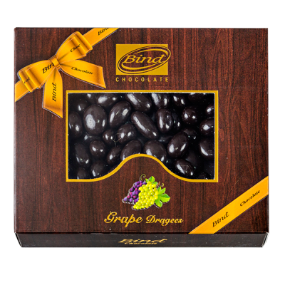 конфеты BIND CHOCOLATE Grape Dragees 100 г 1 уп.х 12 шт.
