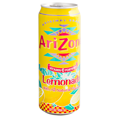 напиток ARIZONA Lemonade 680 мл  Ж/Б 1 уп.х 24 шт.