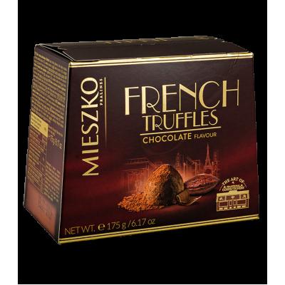 конфеты MIESZKO FRENCH TRUFFLES cо вкусом шоколада 175 г 1 уп. х 16 шт.