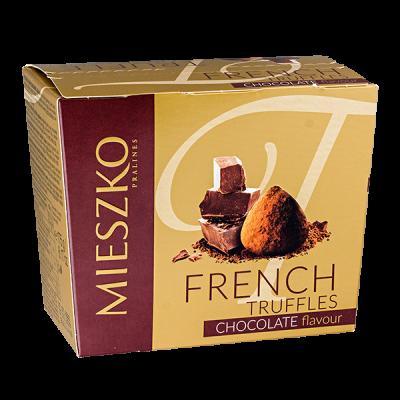 конфеты MIESZKO FRENCH TRUFFLES, cо вкусом шоколада 175 г 1 уп. х 16 шт.
