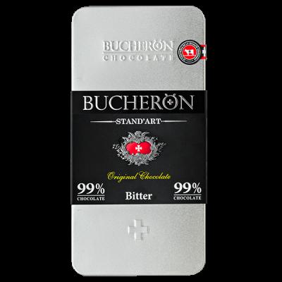 шоколад BUCHERON ж/б 99% Горький 100 г 1уп.х 10 шт.
