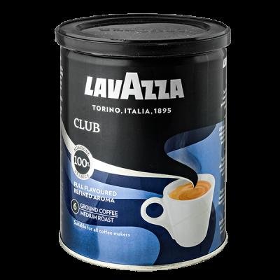 кофе LAVAZZA CLUB 250 г ж/б молотый 1 уп.х 12 шт.