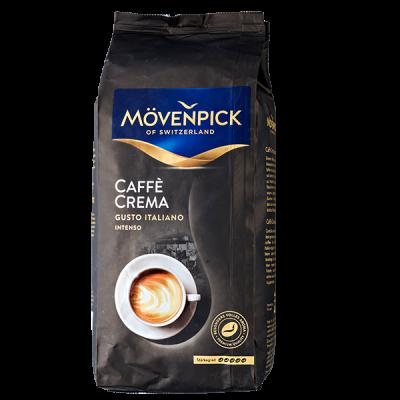 кофе MOVENPICK CAFFE CREMA GUSTO ITALIANO 1 кг зерно 1 уп.х 4 шт.