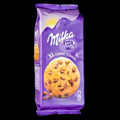 печенье Милка Choco Cookie XL 184 г 1 уп.х 10 шт.