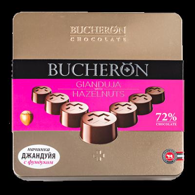 конфеты BUCHERON ДЖАНДУЙЯ с фундуком ж/б 176 г 1 уп.х 10 шт.