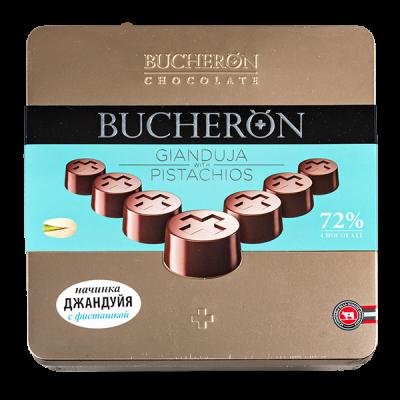 конфеты BUCHERON ДЖАНДУЙЯ с фисташкой ж/б 176 г 1 уп.х 10 шт.