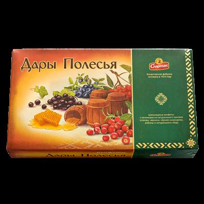 конфеты Дары Полесья 282 г 1 уп.х 6 шт.