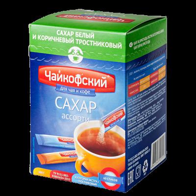сахар ЧАЙКОФСКИЙ фасованный ассорти 300 г 1 уп.х 10 шт.
