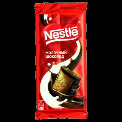 Шоколад Nestle молочный 90 г 1 уп.х 22 шт.