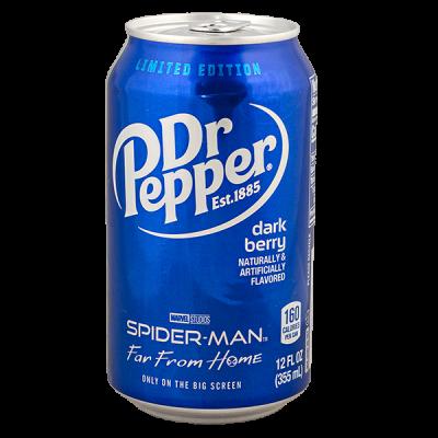 Напиток Dr Pepper Dark Berry 355 мл ж/б 1 уп.х 12 шт.