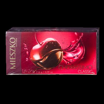 конфеты MIESZKO CHERRISSIMO CLASSIC 116 г 1 уп.х 18 шт.