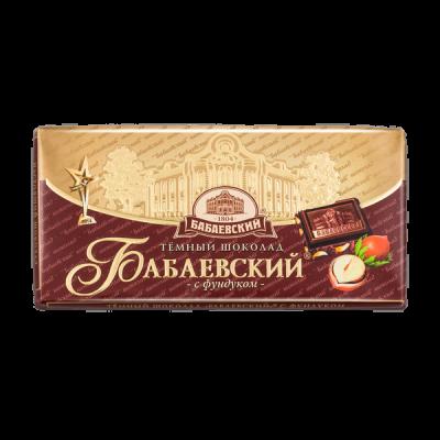 шоколад Бабаевский Фундук 100 г 1 уп.х 16 шт.