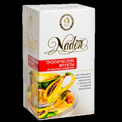 чай NADIN 'Тропические фрукты' 25 пакетиков 1 уп.х 12 шт.