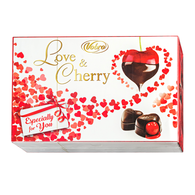 конфеты VOBRO LOVE&CHERRY 290 г 1 уп.х 6 шт.
