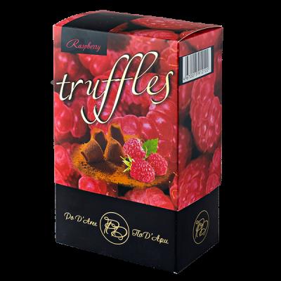 конфеты MATHEZ PoD'Aree Трюфель со вкусом малины 160 г 1 уп.х 15 шт.