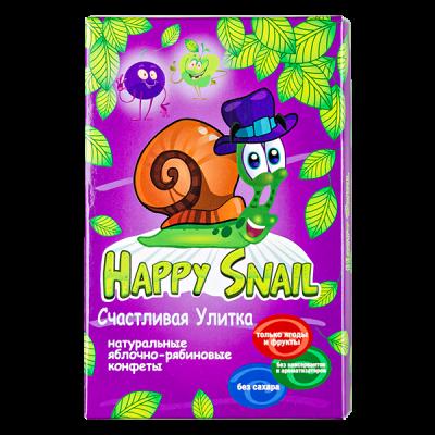 конфеты HAPPY SNAIL яблочно-рябиновым 60 г 1 уп. х 18 шт.