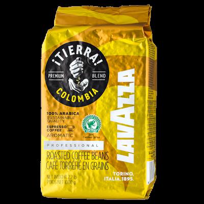 кофе LAVAZZA TIERRA COLOMBIA 1 кг зерно 1 уп.х 6 шт.
