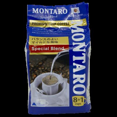 кофе молотый MONTARO Спешиал в фильтр-пакетике 1 уп. * 8 шт.