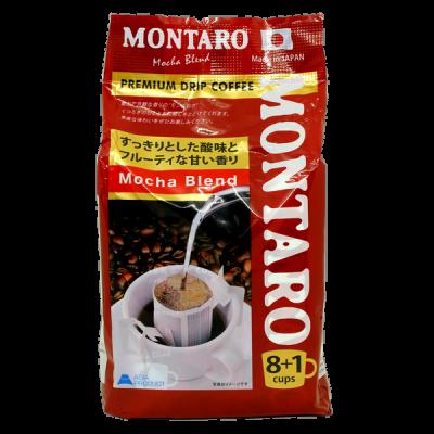 кофе молотый MONTARO Мока в фильтр-пакетике 1 уп. * 9 шт.