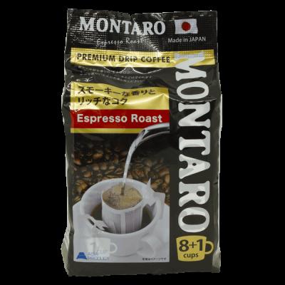 кофе молотый MONTARO Эспрессо в фильтр-пакетике 1 уп. * 8 шт.