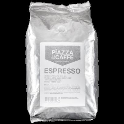 кофе PIAZZA del CAFFE ESPRESSO FORTE 1 кг зерно 1 уп.х 6 шт.