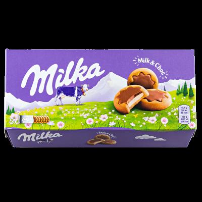 печенье Милка Milk & Choc 187 г 1 уп.х 16 шт.