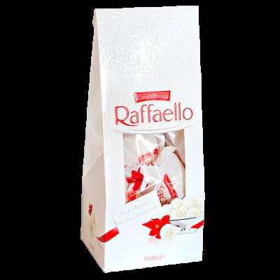 конфеты Раффаэлло Пакет 80 г 1 уп.х 12 шт.
