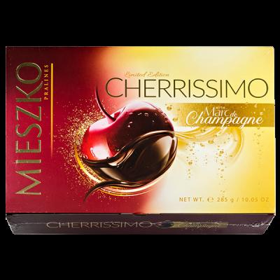конфеты MIESZKO CHERRISSIMO Marc de Champagne 285 г 1 уп.х 7 шт.