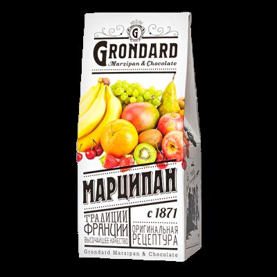 конфеты GRONDARD МАРЦИПАН АССОРТИ РМ 120 г 1 уп. х 9 шт.