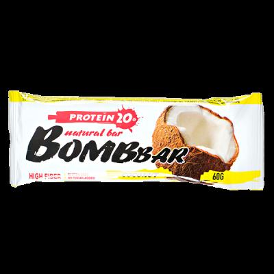 Батончик Bombbar протеиновый COCONUT 60 г 1 уп.х 20 шт.