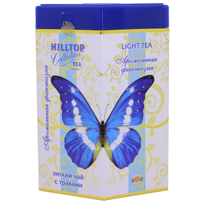 чай HILLTOP в подарочном ромбе 'Ароматная фантазия' ж/б 100 гр.