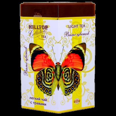 чай HILLTOP в подарочном ромбе 'Вальс цветов' ж/б 100 гр.