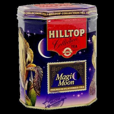чай HILLTOP в подарочном восьмиграннике 'Волшебная луна' ж/б 100 г 1 уп.х 12 шт.