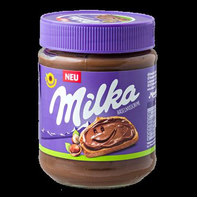 шоколадно-ореховая паста Милка HASELNUSSCREME 350 г 1 уп.х 12 шт.