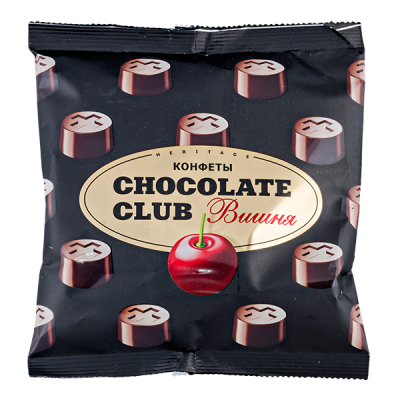 конфеты CHOCOLATE CLUB вишня 140 г 1 уп.х 14 шт.