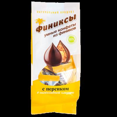 конфеты Финиксы с Персиком в Шок Глазури 180 г 1 уп.х 10 шт.