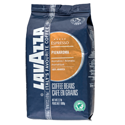 кофе LAVAZZA PIENAROMA 1 кг зерно 1 уп.х 6 шт.