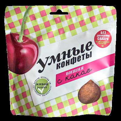 конфеты Умные Конфеты Вишня с Какао 160 г 1 уп.х 20 шт.