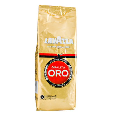 кофе LAVAZZA QUALITA ORO 250 г зерно 1 уп.х 20 шт.