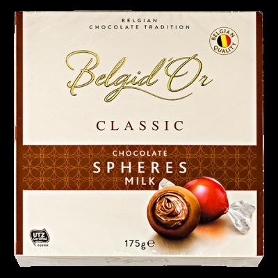 конфеты Belgid 'Or CHOCOLATE SPHERES MILK 175 г 1 уп.х 12 шт.