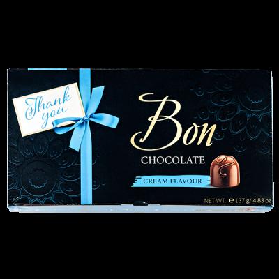 конфеты MIESZKO BON CHOCOLATE CREME FLAVOUR 137 г 1 уп.х 13 шт.