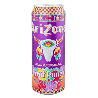 напиток ARIZONA Fruit Punch 680 мл  Ж/Б 1 уп.х 24 шт.