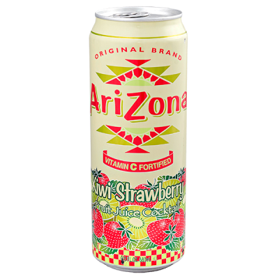 напиток ARIZONA Kiwi Strawberry 680 мл  Ж/Б 1 уп.х 24 шт.