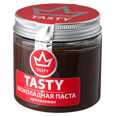 шоколадная паста Tasty арахисовая 200 г 1 уп.х 12 шт.