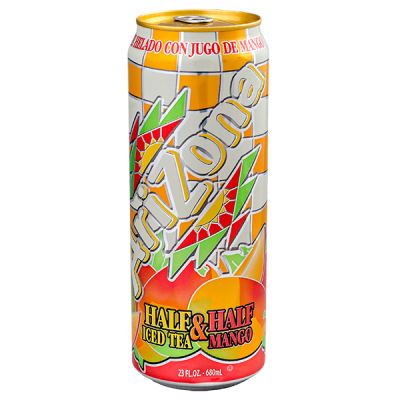 напиток ARIZONA Half Iced Tea & Half Mango 680 мл  Ж/Б 1 уп.х 24 шт.