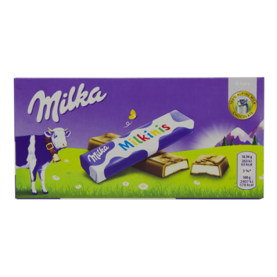 шоколад Милка Milkinis порционная 87,5 г 1 уп.х 20 шт.